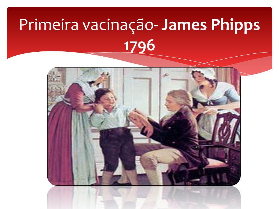 Primeira vacinação- James Phipps 1796