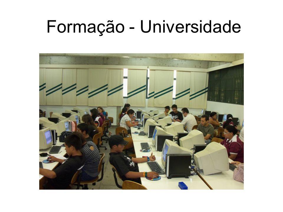 Formação - Universidade