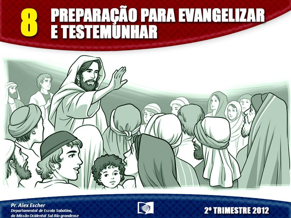 Pr. Alex Escher Departamental de Escola Sabatina, da Missão Ocidental Sul-Rio-grandense