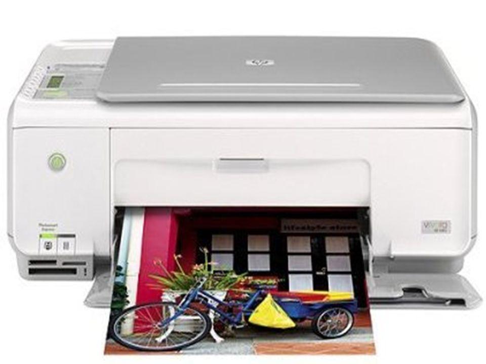 Dispositivos de entrada e saída Executam as funções de entrada e saída de Exemplo: Impressora multifuncional.