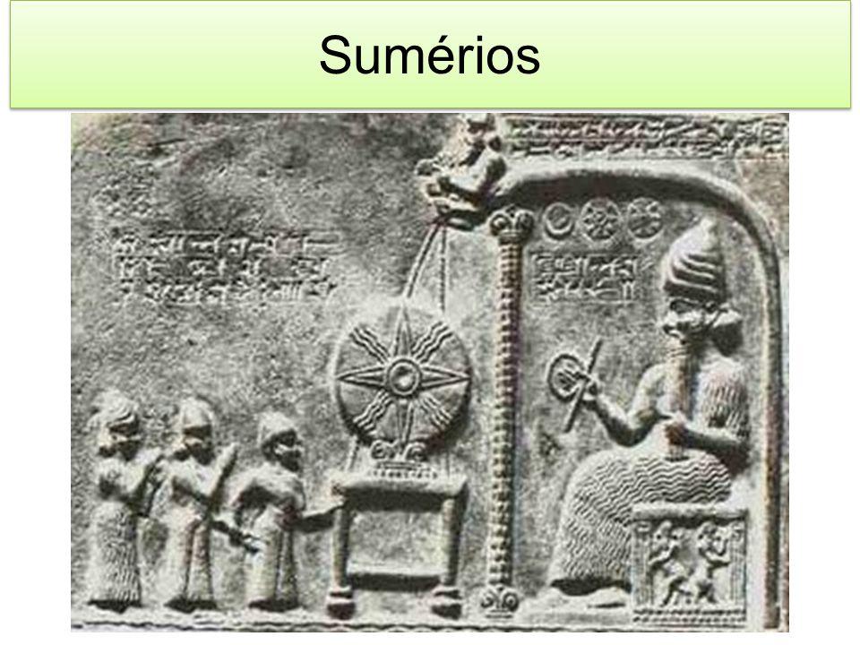 Com um origem de certo modo não explicada, sabe-se que os sumérios ocuparam a parte baixa da Caldéia por volta 3000 a.C.