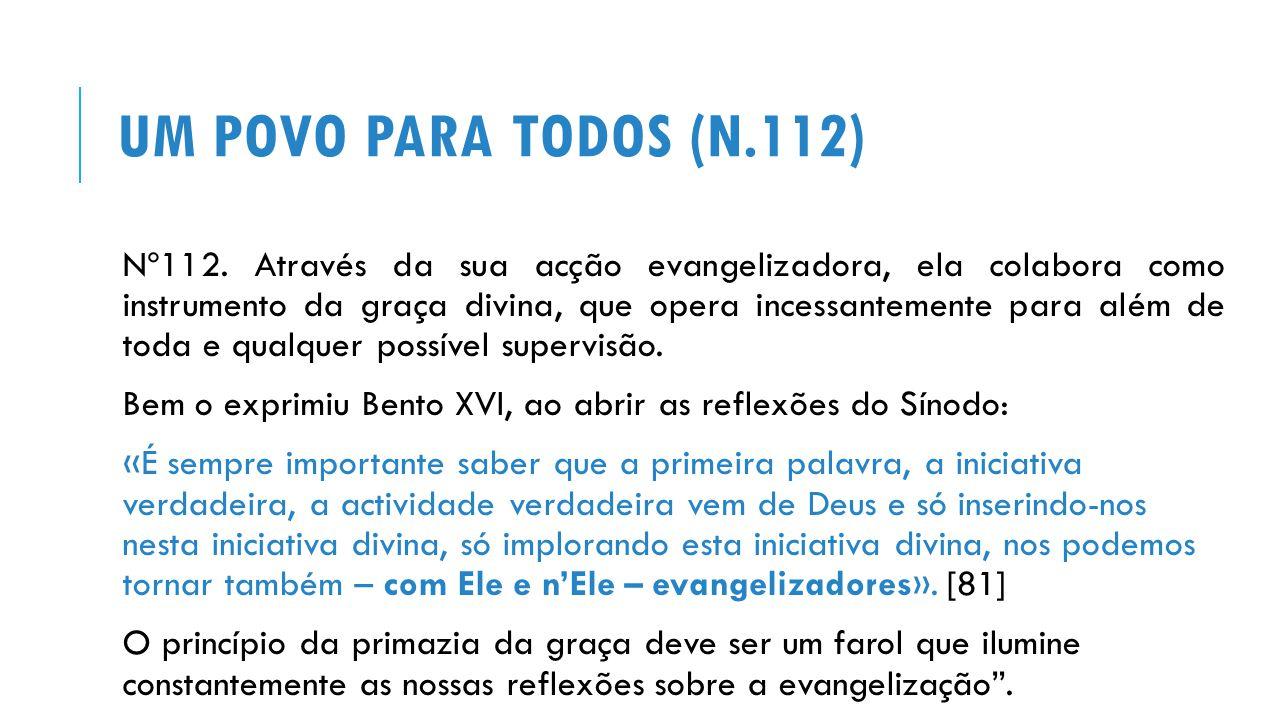 UM POVO PARA TODOS (N.112) Nº112.
