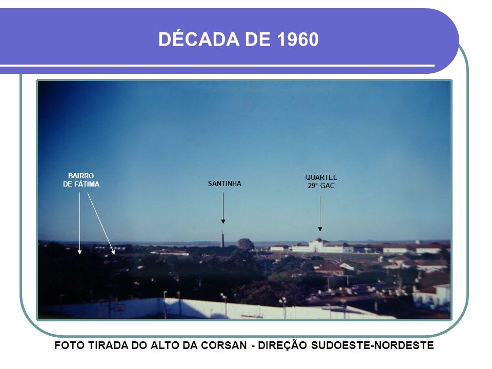 HOJE FOTO TIRADA DO ALTO DA CORSAN - DIREÇÃO OESTE-LESTE EDIFÍCIO SANTORINI BAIRRO JARDIM AMÉRICA PAVILHÃO DO 29° G.A.C.