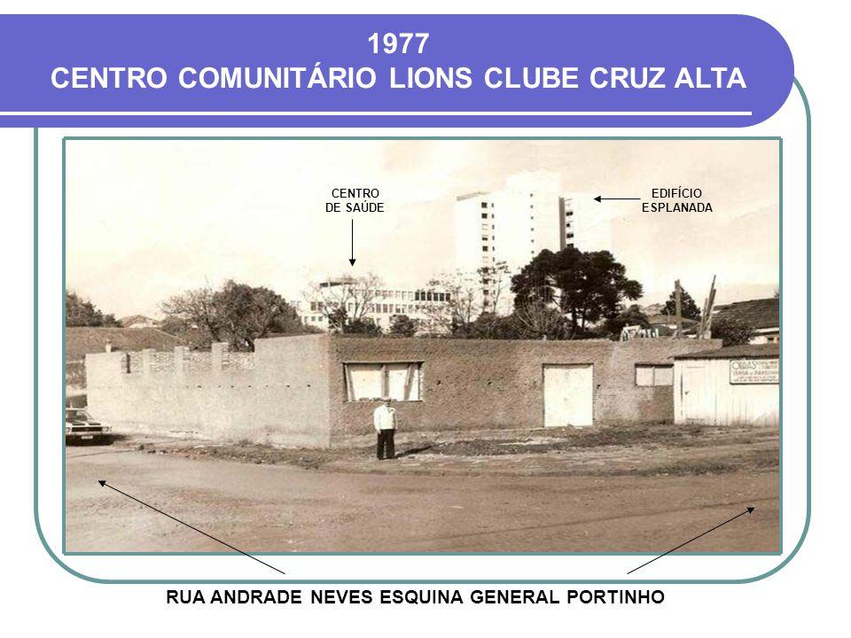 HOJE O ARCO DA LOMBA FOI CONSTRUÍDO EM 1962 PARA DAR BOAS-VINDAS AOS VISITANTES, SENDO DEMOLIDO NO FINAL DA DÉCADA DE 1970