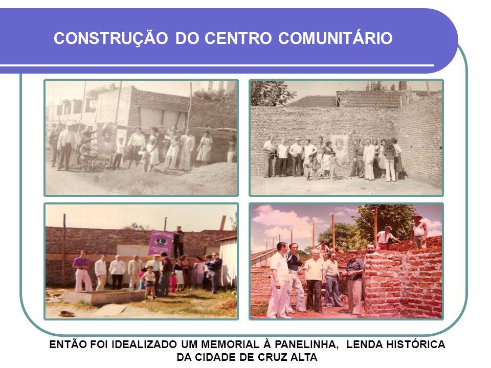 LANÇAMENTO DA PEDRA FUNDAMENTAL EM VERMELHO CONSTRUÇÃO DO CENTRO COMUNITÁRIO