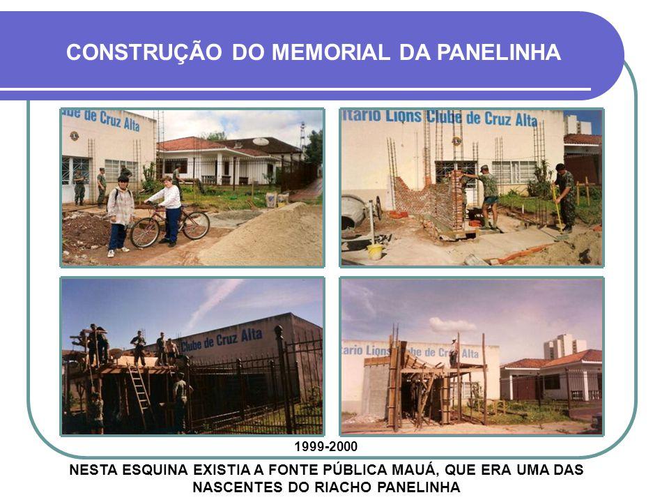 ASSIM, EM 1999, INICIOU-SE À CONSTRUÇÃO DO MONUMENTO, JUNTO AO CENTRO COMUNITÁRIO LIONS CLUBE CRUZ ALTA A LENDA DA PANELINHA
