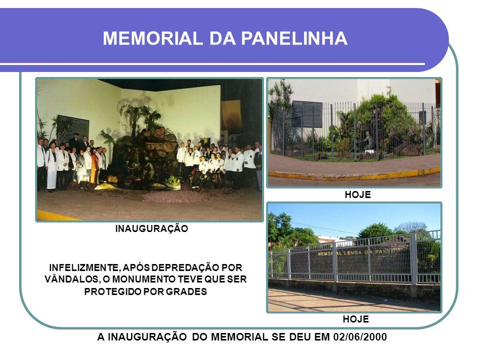 CONSTRUÇÃO DO MEMORIAL DA PANELINHA 1999-2000 NESTA ESQUINA EXISTIA A FONTE PÚBLICA MAUÁ, QUE ERA UMA DAS NASCENTES DO RIACHO PANELINHA