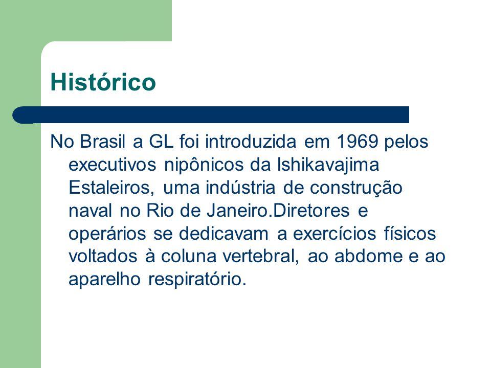 Histórico No Brasil a GL foi introduzida em 1969 pelos executivos nipônicos da Ishikavajima Estaleiros, uma indústria de construção naval no Rio de Ja