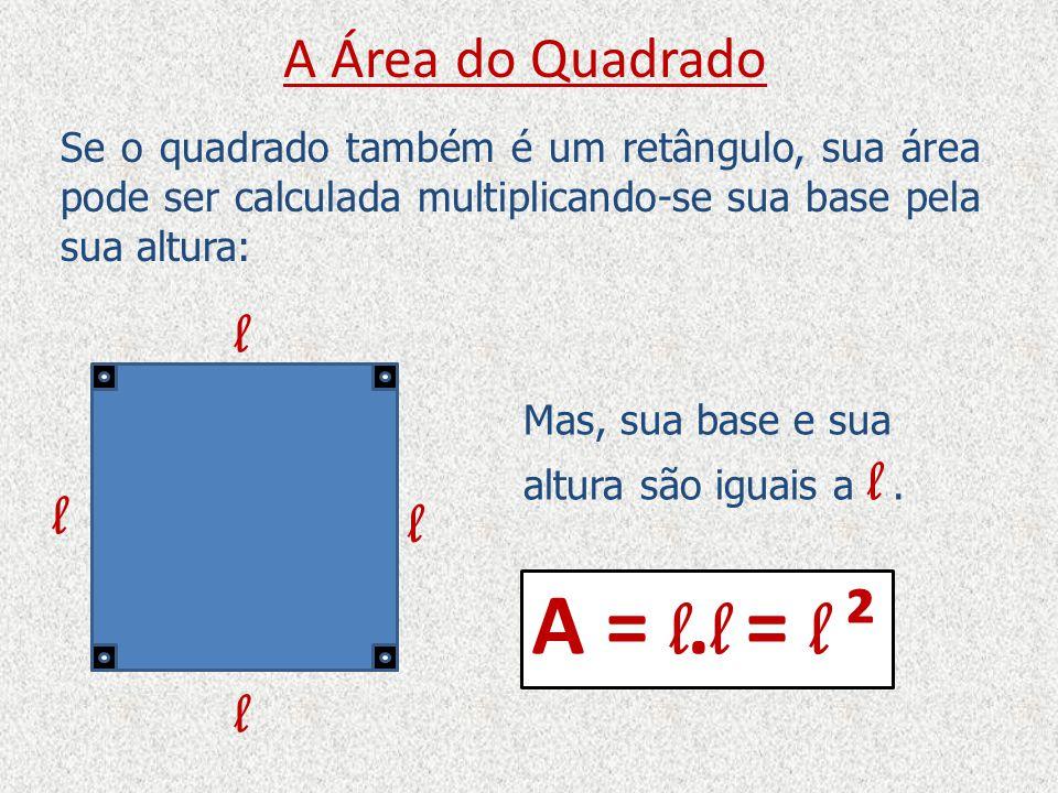 A Área do Paralelogramo Um Paralelogramo é um quadrilátero que possui os quatro lados dois a dois paralelos.