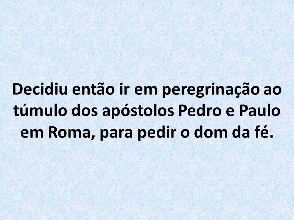 Conta a história, que existia um sacerdote chamado Pedro de Praga, que vivia angustiado por dúvidas sobre a presença de Cristo na Eucaristia.