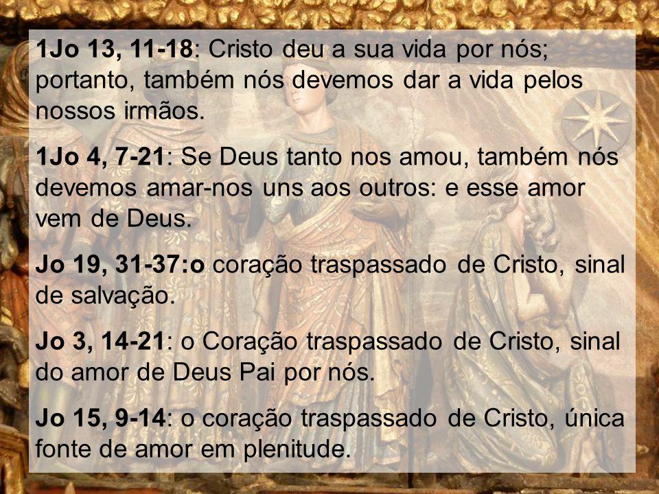 Outros textos Jo 13, 12-17: Cristo lava os pés aos apóstolos.