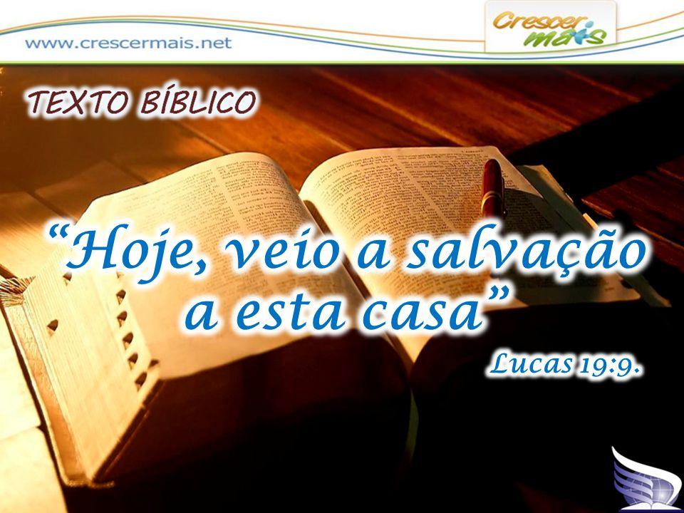 (LC 19:5) E quando Jesus chegou àquele lugar, olhando para cima, viu- o e disse-lhe: Zaqueu, desce depressa, porque hoje me convém pousar em tua casa.