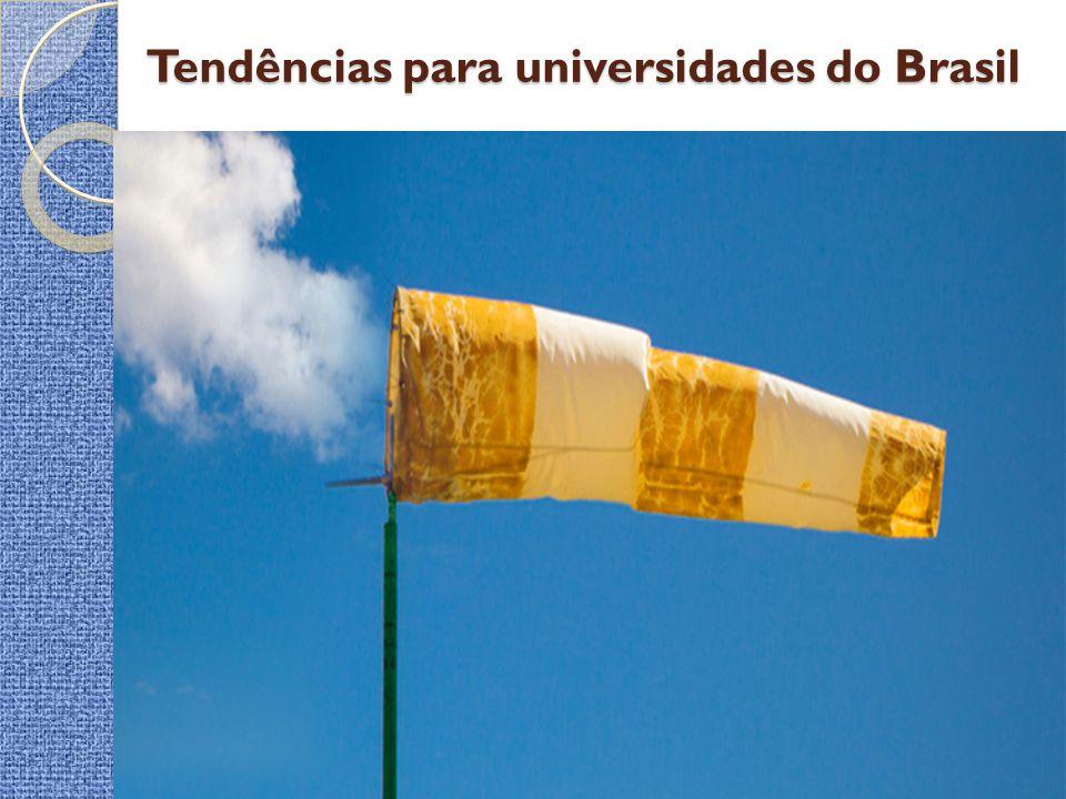 Tendências para universidades do Brasil