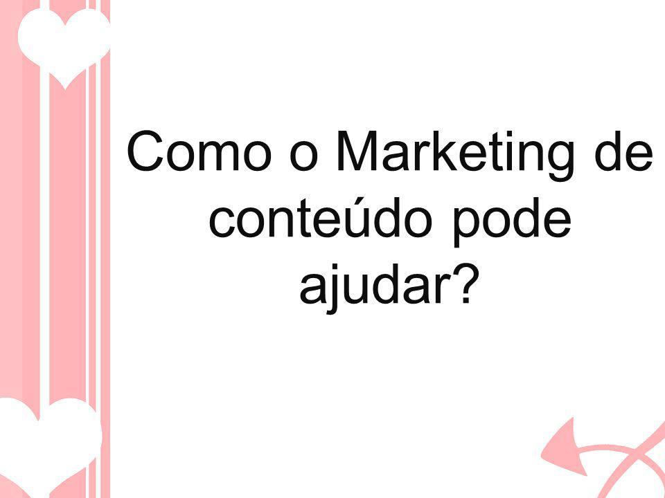 Como o Marketing de conteúdo pode ajudar?
