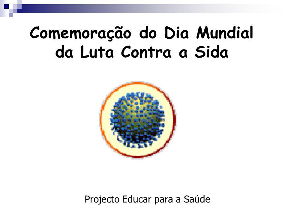 Comemoração do Dia Mundial da Luta Contra a Sida Projecto Educar para a Saúde