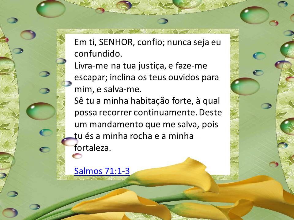 Tesouro da Escritura Salmos 71