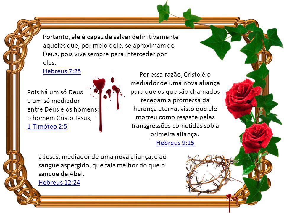 Que hoje haja uma transfusão de sangue na sua vida, que o sangue do pecado (Adão) seja eliminado e que o sangue de Jesus seja introduzido em você. Lem