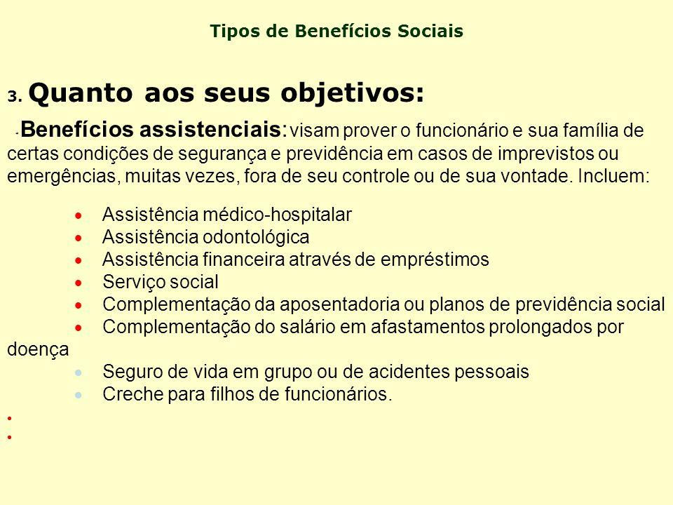 Benefícios não-monetários: são os beneficios não- financeiros oferecidos na forma de serviços, vantagens ou facilidades para os usuários, como: · Refe