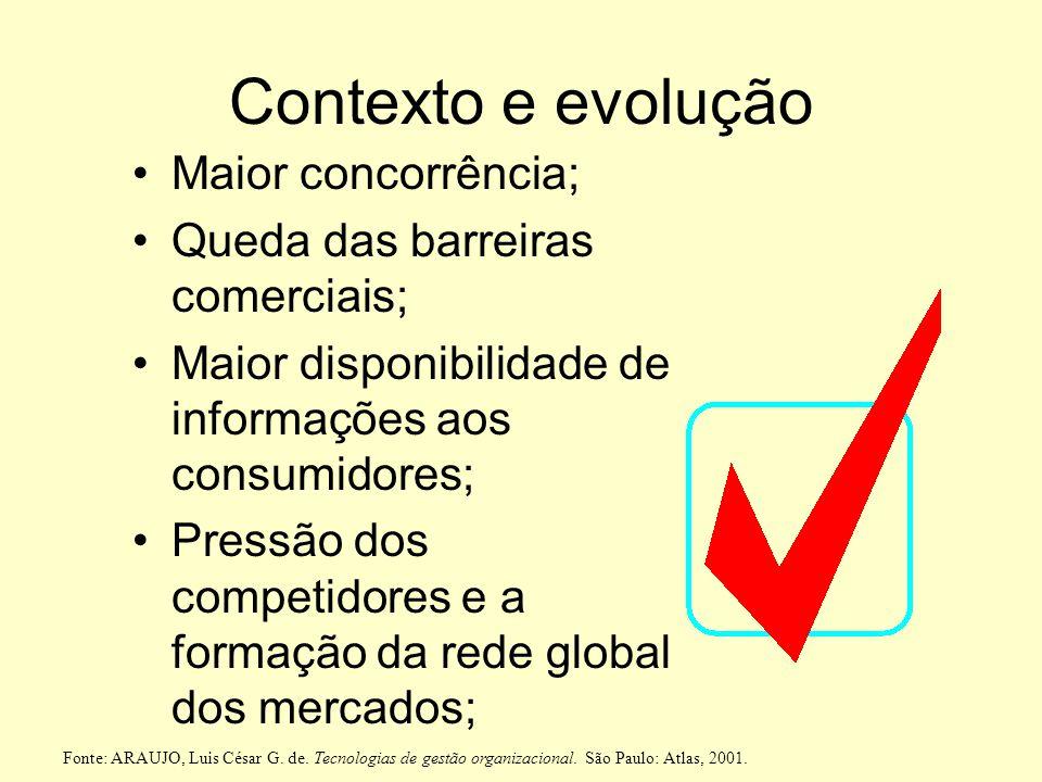 Figura 16.11. Modelo de excelência do PNQ Informações e Conhecimento Clientes Sociedade Liderança Estratégias e Planos Processos Pessoas Resultados