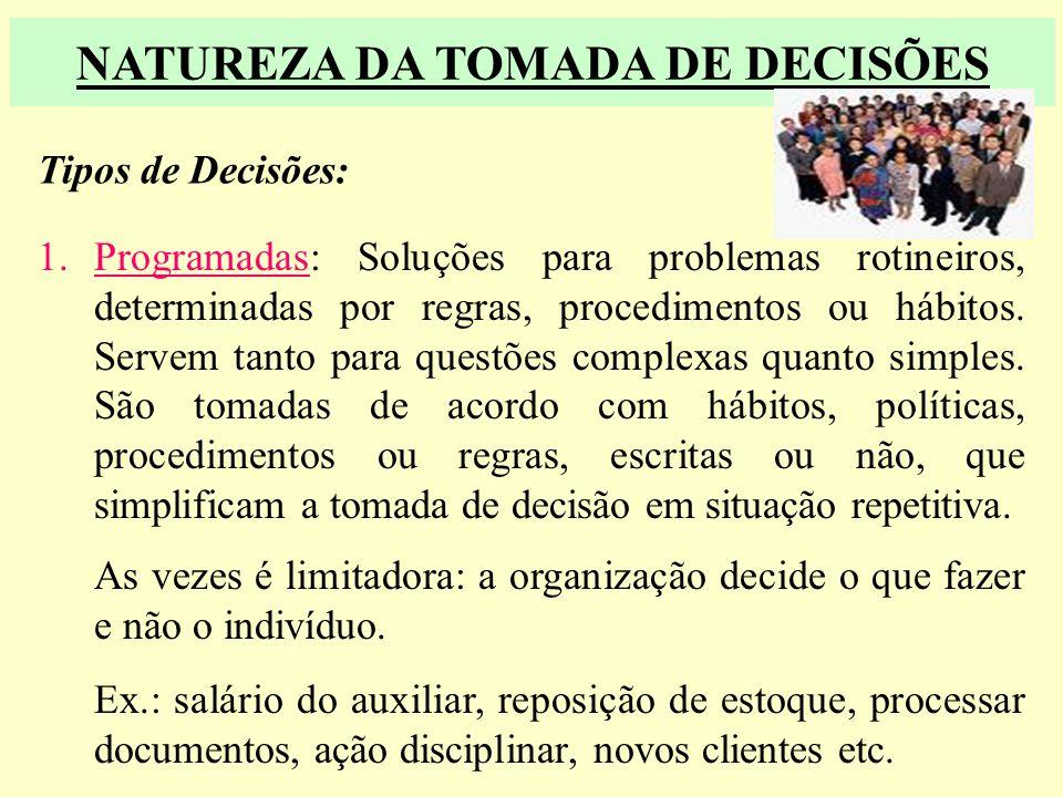 Questões a serem respondidas no processo decisorial - O quê?- Onde? - Quando?- Quem? - Porque? Processo Básico: 1.Analisar todas as alternativas levan