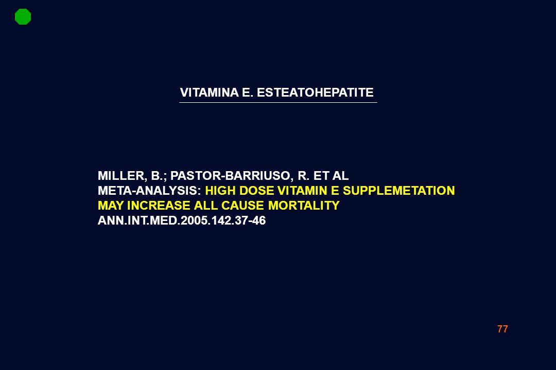 77 MILLER, B.; PASTOR-BARRIUSO, R.