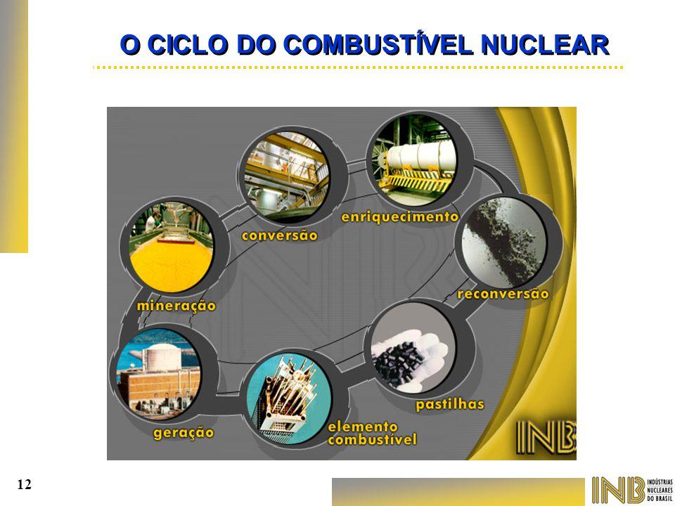 O CICLO DO COMBUSTÍVEL NUCLEAR 12