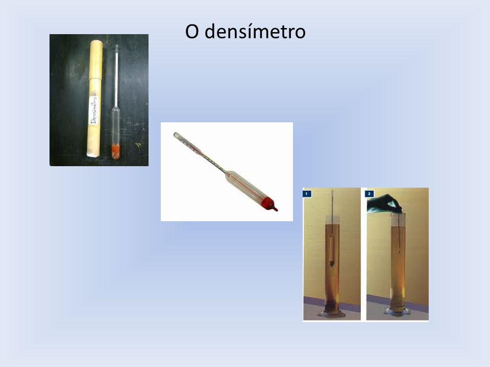 O densímetro