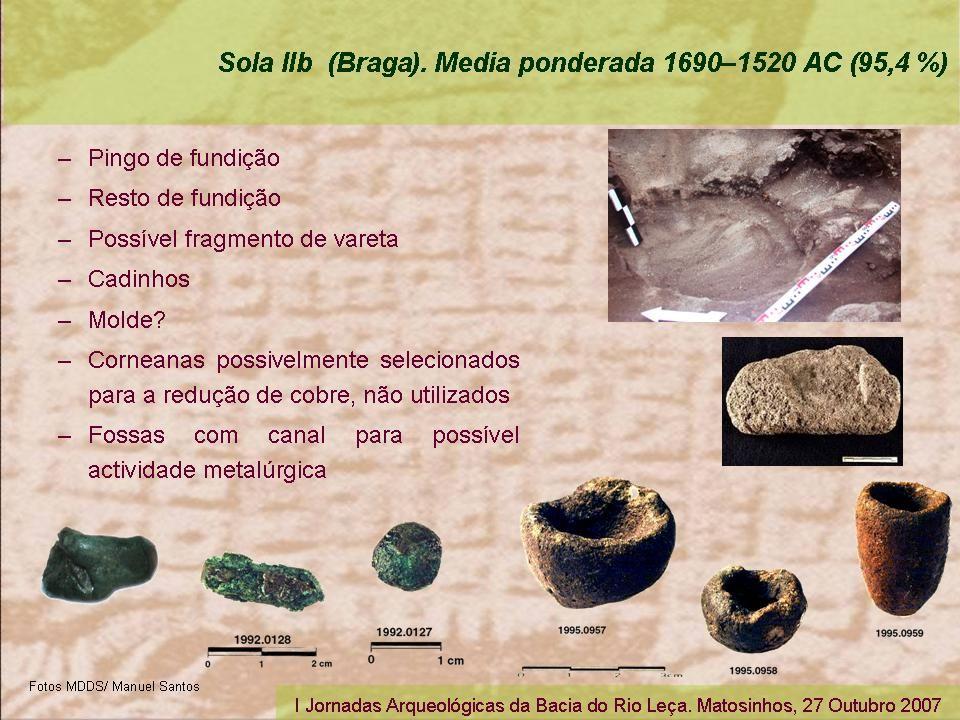 I Jornadas Arqueológicas da Bacia do Rio Leça.