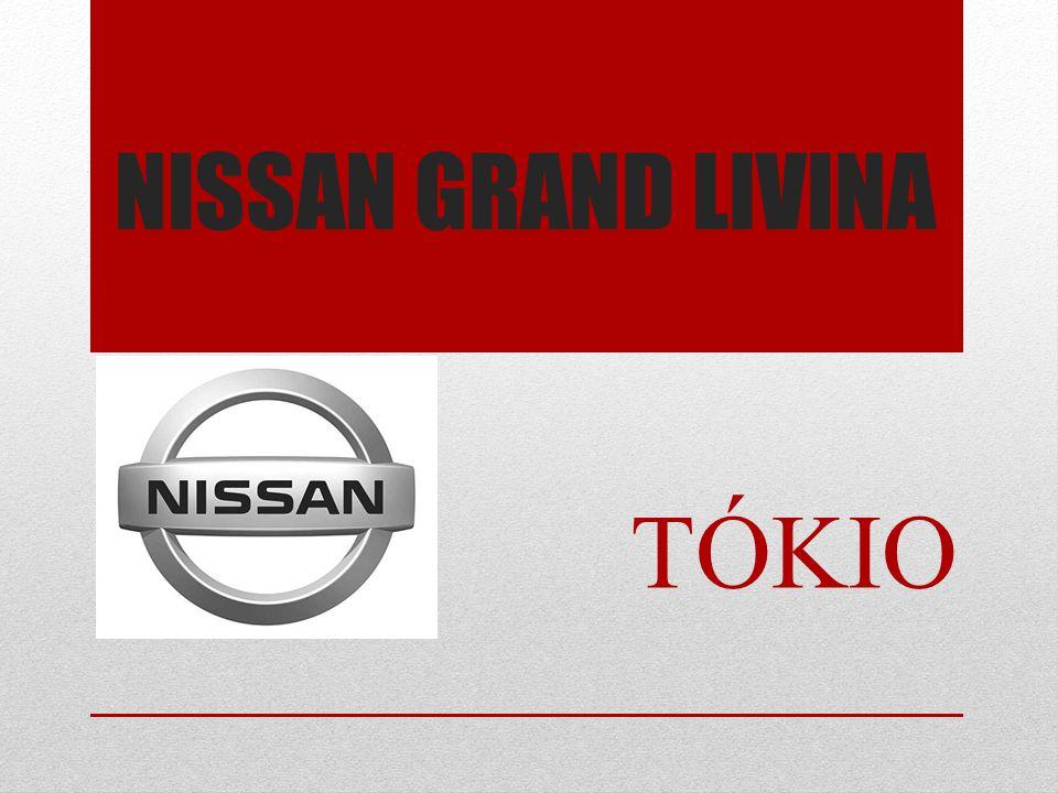 NISSAN GRAND LIVINA TÓKIO