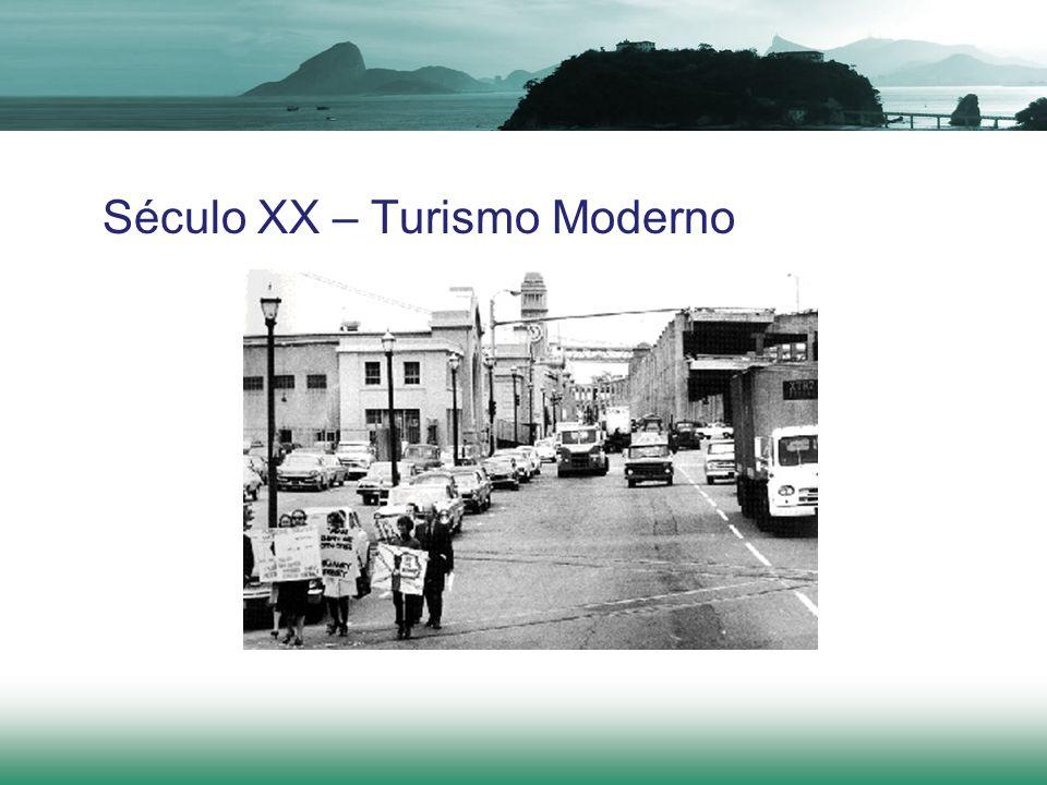 Século XX – Turismo Moderno