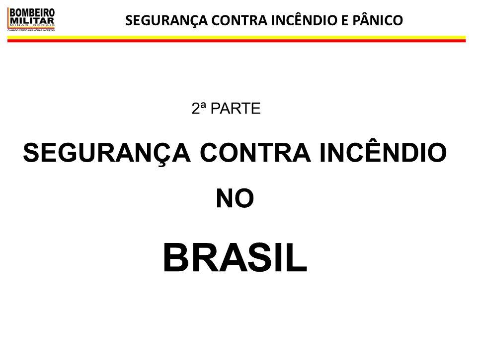 SEGURANÇA CONTRA INCÊNDIO E PÂNICO 19 SEGURANÇA CONTRA INCÊNDIO NO BRASIL 2ª PARTE