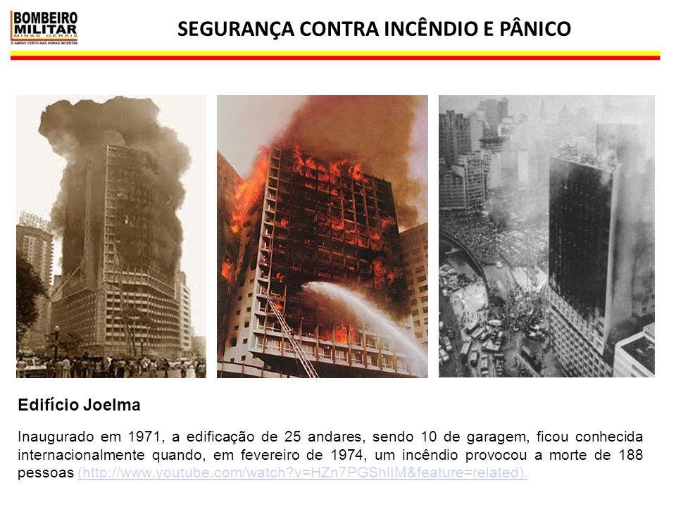 SEGURANÇA CONTRA INCÊNDIO E PÂNICO 22 Edifício Joelma Inaugurado em 1971, a edificação de 25 andares, sendo 10 de garagem, ficou conhecida internacion