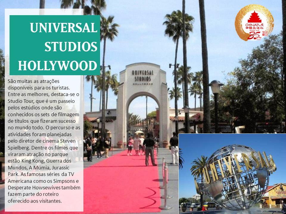 São muitas as atrações disponíveis para os turistas. Entre as melhores, destaca-se o Studio Tour, que é um passeio pelos estúdios onde são conhecidos