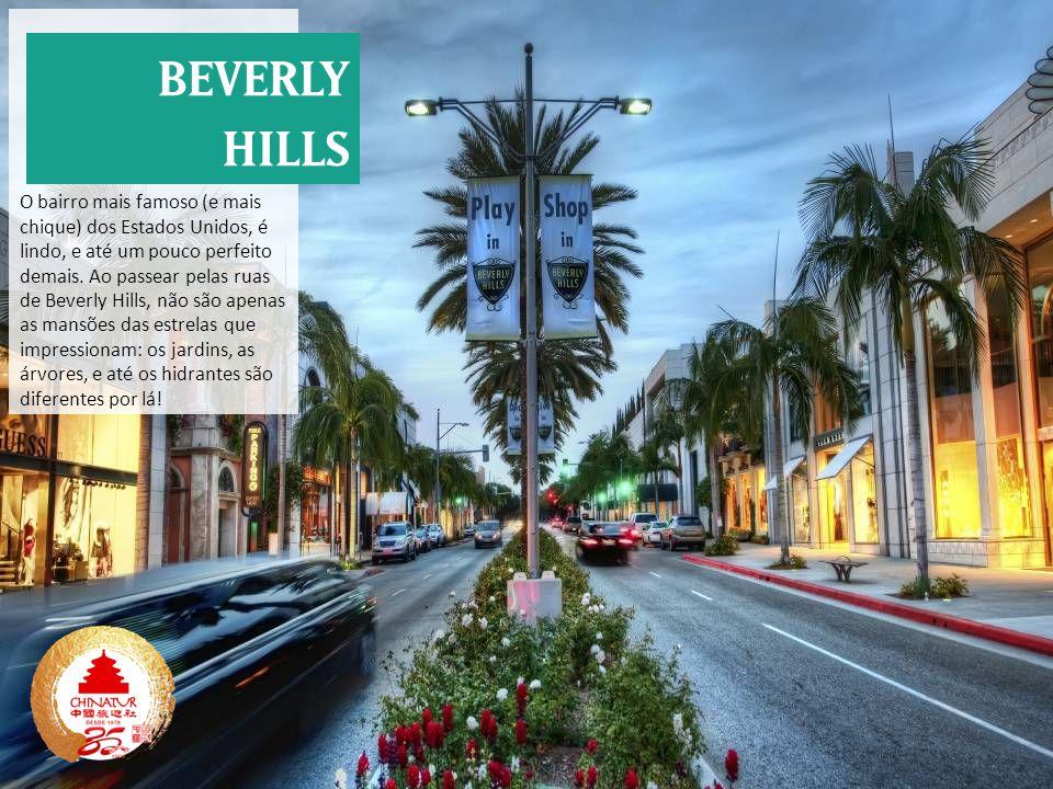 O bairro mais famoso (e mais chique) dos Estados Unidos, é lindo, e até um pouco perfeito demais. Ao passear pelas ruas de Beverly Hills, não são apen