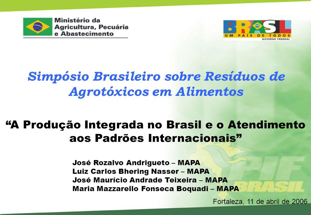 Fruticultura Brasileira 3° maior produtor de frutas do mundo – 40 milhões de toneladas.