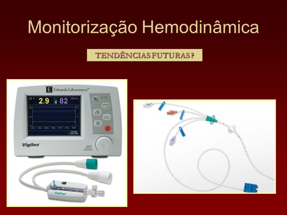 Monitorização Hemodinâmica TENDÊNCIAS FUTURAS ?