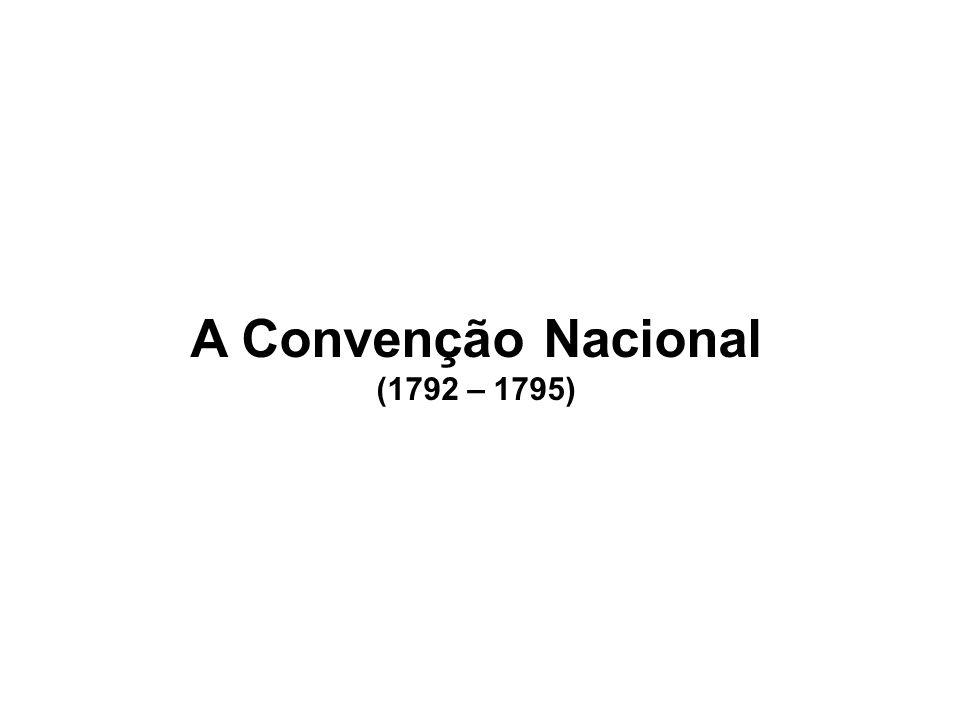 A Convenção Nacional (1792 – 1795)