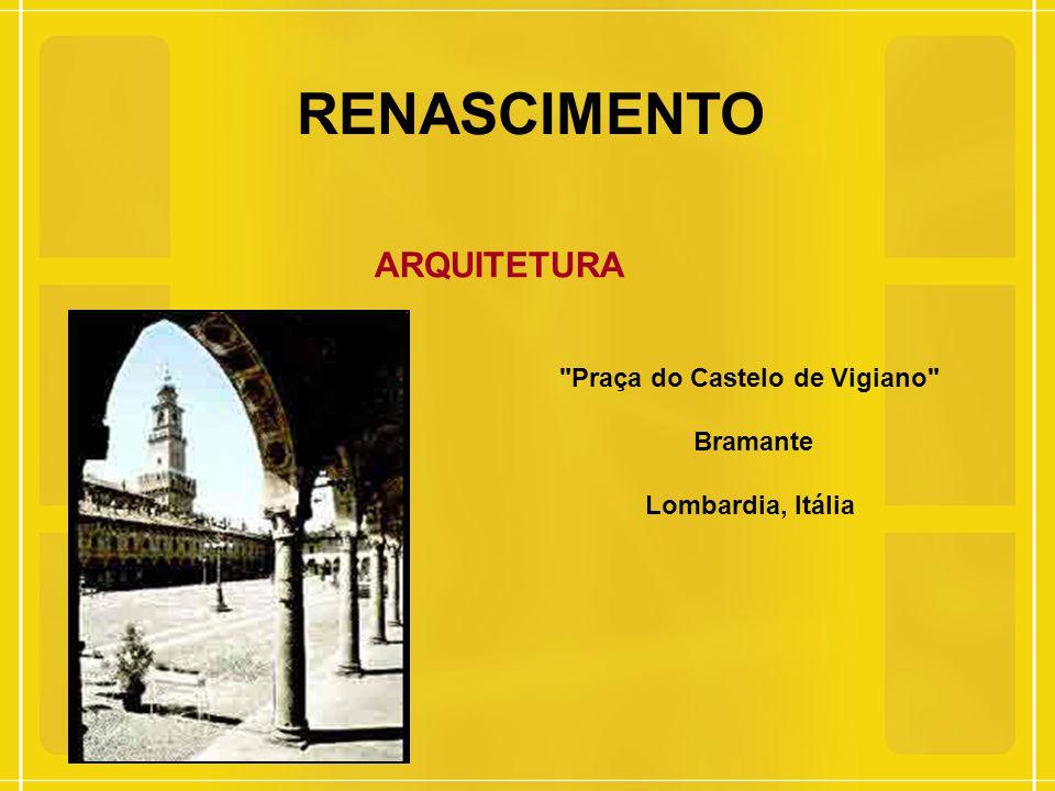 RENASCIMENTO ARQUITETURA Basílica de São Lourenço, 1419-1460 Filipo Brrunelleschi Florença