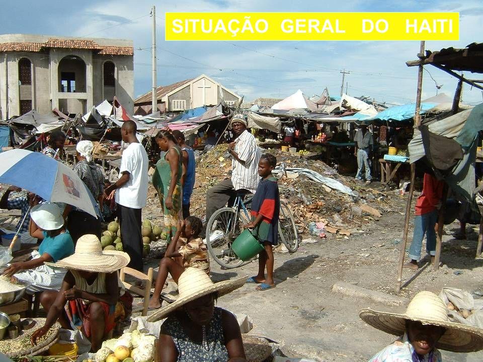SITUAÇÃO GERAL DO HAITI