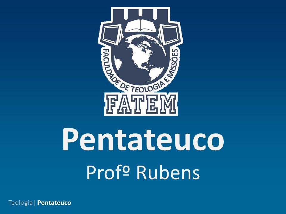 Tal como os gregos, os hebreus dividiram o Pentateuco em cinco livros, todos localizados no Antigo Testamento:  Gênesis  Êxodo  Levítico  Números  Deuteronômio.