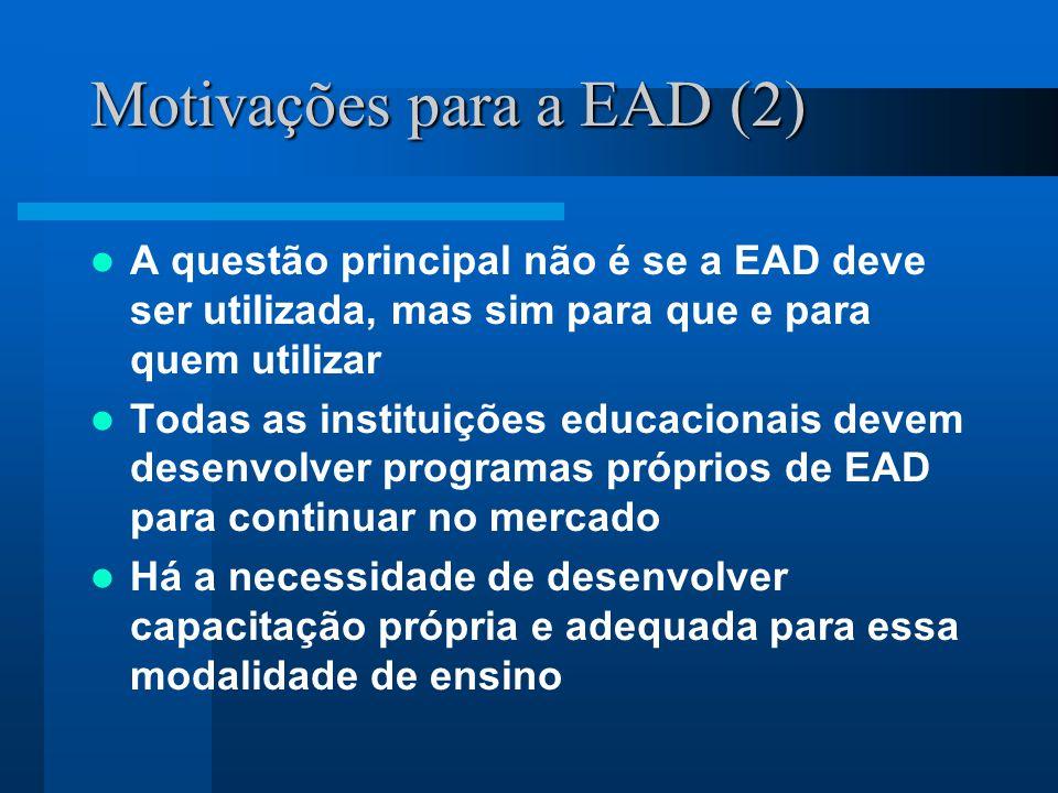 O Projeto de EAD da FCM