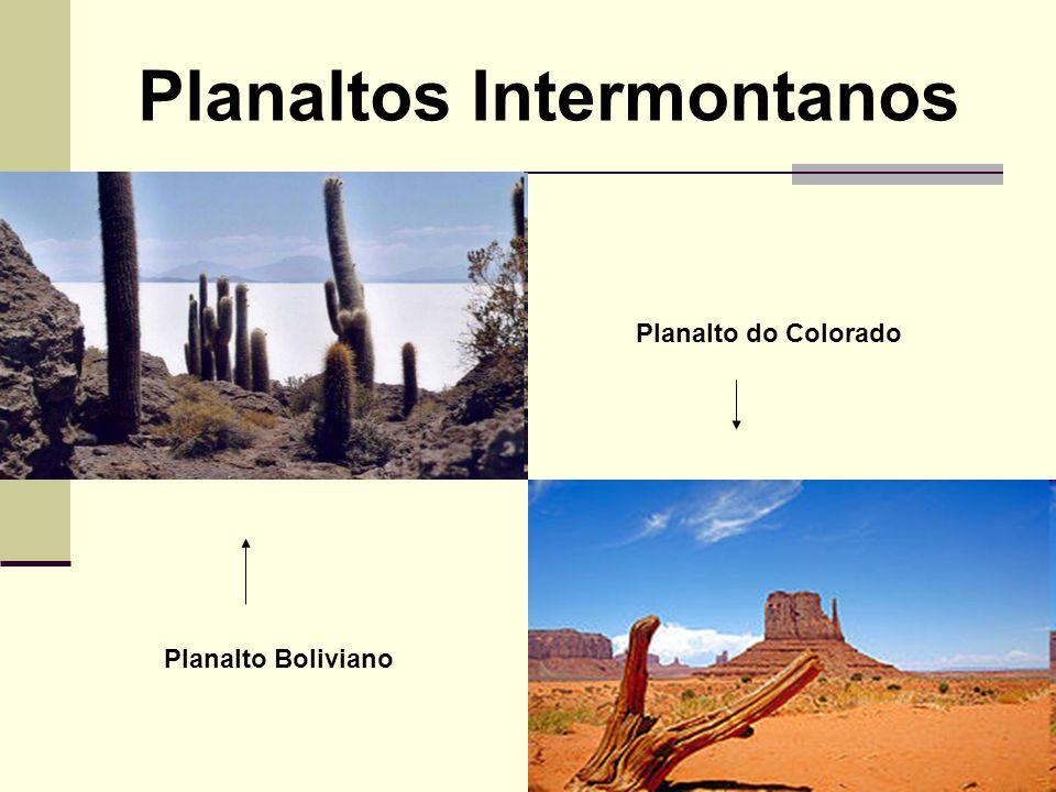 Planaltos Intermontanos Planalto do Colorado Planalto Boliviano