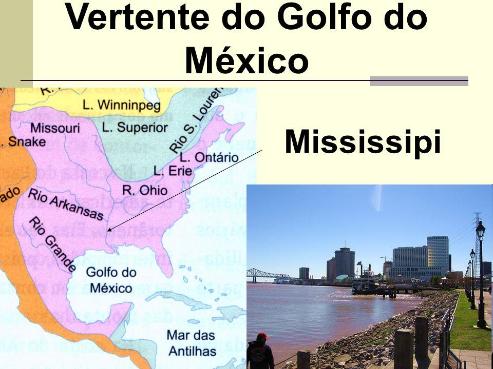 Vertente do Golfo do México Mississipi