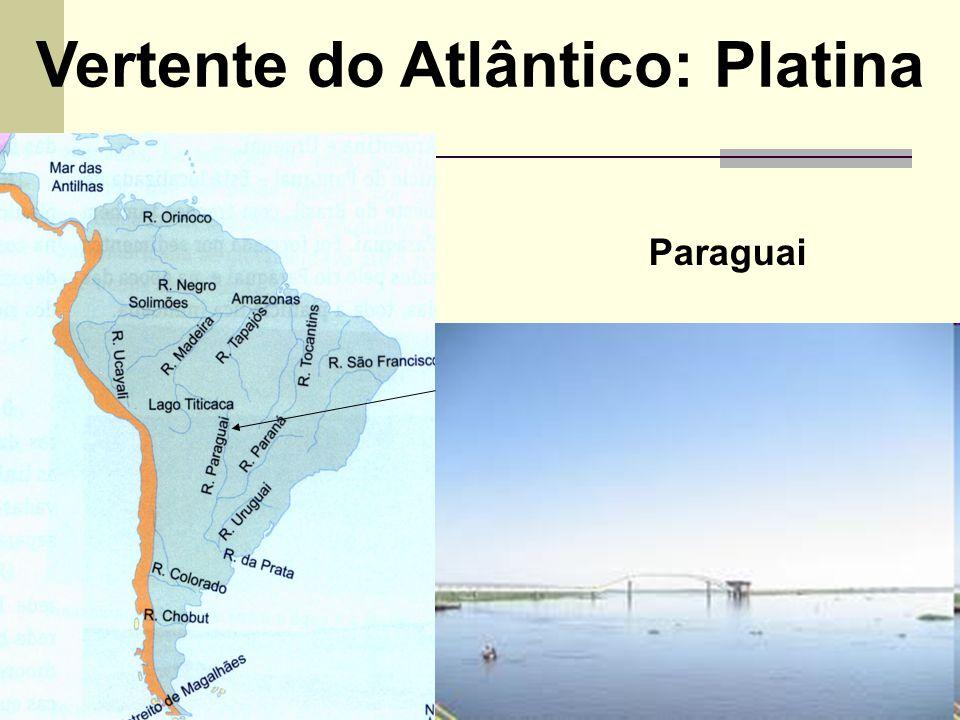 Vertente do Atlântico: Platina Paraguai
