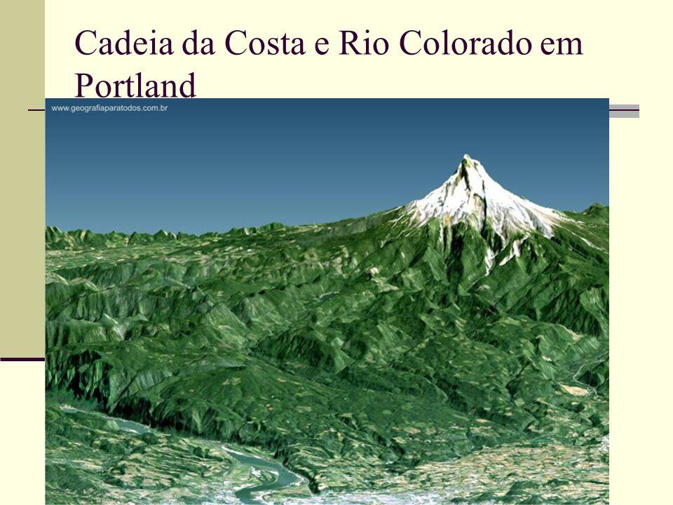 Cadeia da Costa e Rio Colorado em Portland