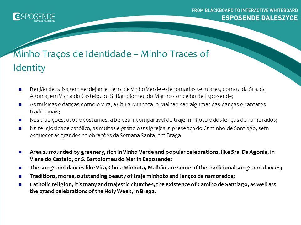 Distritos do Minho – Viana do Castelo O Distrito de Viana do Castelo encontra-se no extremo Norte do território continental português.