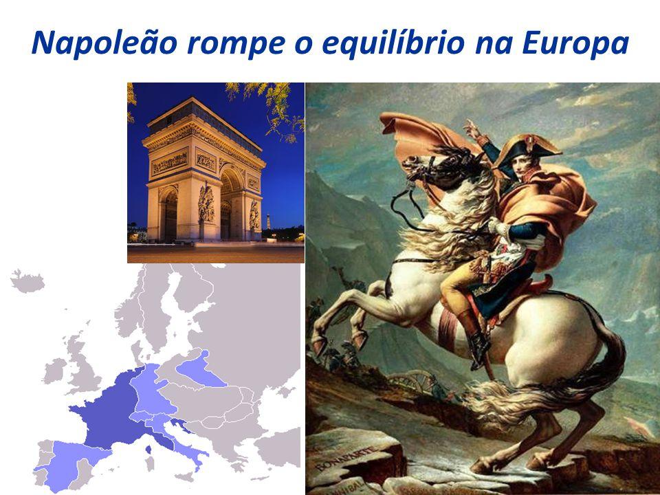 10 Napoleão rompe o equilíbrio na Europa