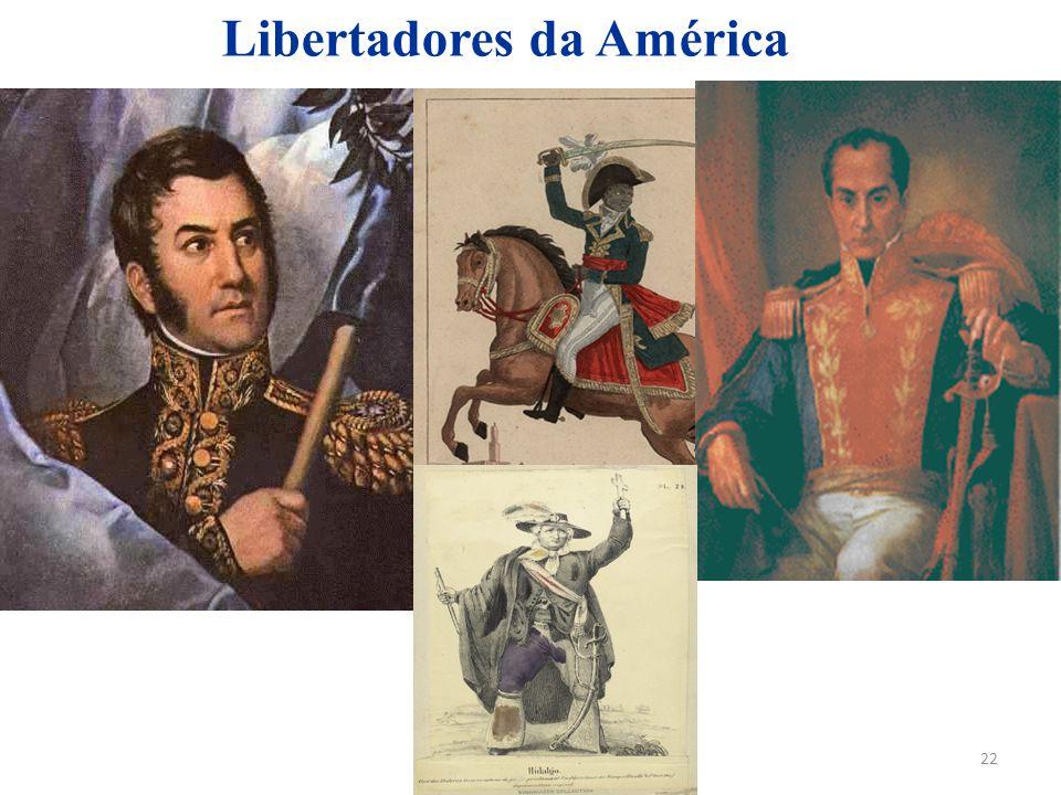 22 Libertadores da América