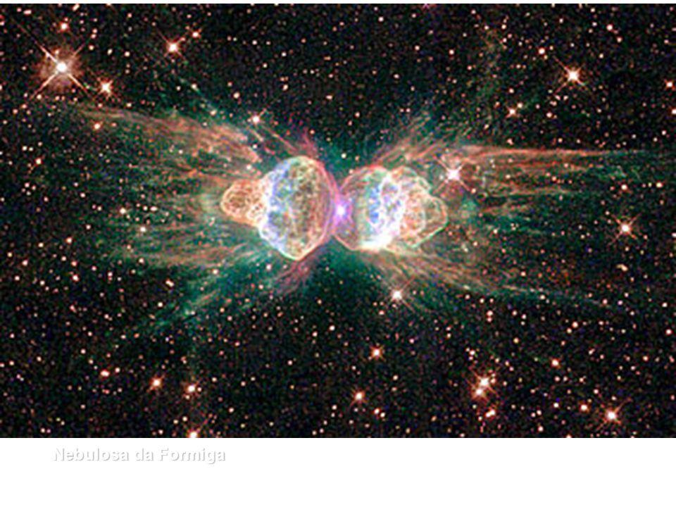 [2] A Nebulosa da Formiga Formiga, que é uma nuvem de poeira cósmica e gás, cujo nome técnico é Mz3. Assemelha-se a uma formiga quando observada por t