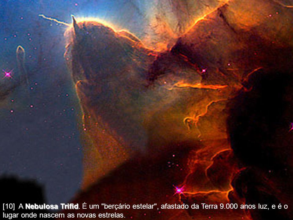 [10] A Nebulosa Trifid Trifid. É um